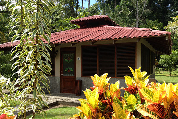 Rooms are individual bungalows